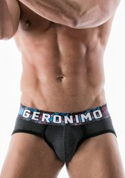 Geronimo Graffiti Brief Grey