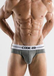 Code 22 Essential Brief Grey