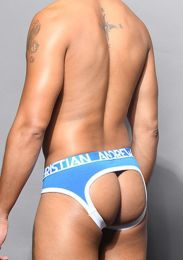 Andrew Christian Almost Naked Locker Room Jock Brief 91978 Electric Blue
