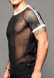 Andrew Christian Performance Net T Shirt 10308 Black