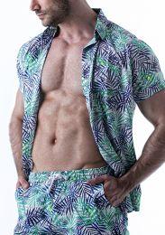 Leader Tropical Shirt Print