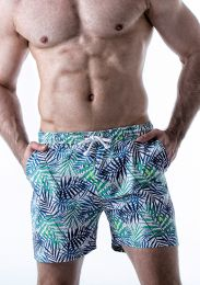 Leader Tropical Shorts Print