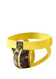 Jockmail Camouflage Mesh Jockstrap Yellow