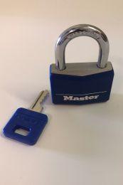 MASTER padlock 40mm Blue