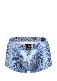 Jockmail High Reflective Embossed Boxer Blue