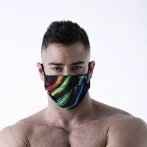 Code 22 Face Mask White Multi
