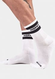 Barcode Berlin Half Fetish Socks Horny White Black