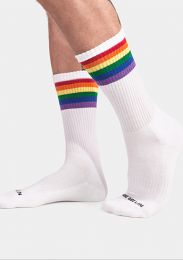 Barcode Berlin Pride Gym Socks White