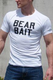 Ajaxx63 Bear Bait T Shirt White