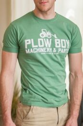 Ajaxx63 Plow Boy T Shirt Green