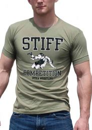 Ajaxx63 Stiff Competition T Shirt Army Green