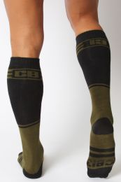 Cellblock 13 Torque 2.0 Knee High Sock Army