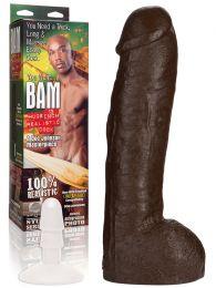 Doc Johnson Bam Realistic Cock 13 Inch Dildo