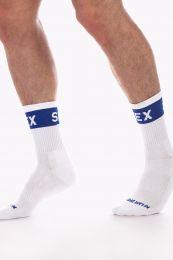 Barcode Berlin Fashion Half Socks Sex White Navy