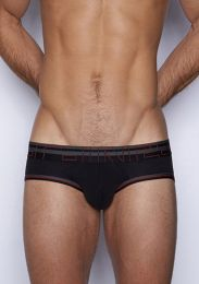 C-IN2 Zen Low Rise Brief Black