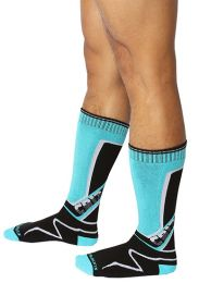 Cellblock 13 Kennel Club Mid Calf Socks Turquoise