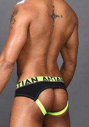 Andrew Christian Coolflex Modal Arch Jock  with Show It 91399 Black