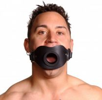 Strict Leather Locking Open Mouth Gag