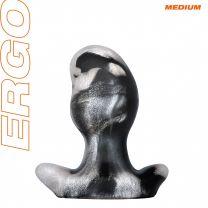 Oxballs Ergo Medium Butt Plug Platinum Swirl