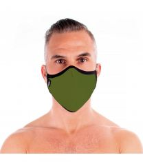 TOF Paris Fashion Seamless Face Mask Khaki