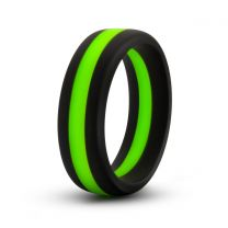 Performance Silicone Go Pro Cock Ring Black Green