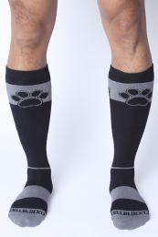 Cellblock 13 Kennel Club Alpha Knee High Sock Grey