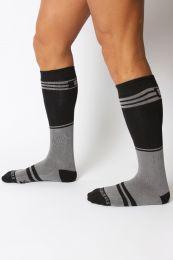 Cellblock 13 Torque 2.0 Knee High Sock Grey