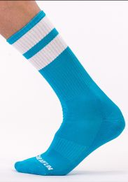 Barcode Berlin Gym Socks Blue White