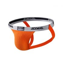 Jockmail Classic Bike Jockstrap 1 Inch Orange