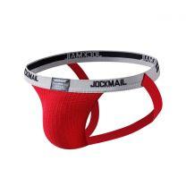 Jockmail Classic Bike Jockstrap 1 Inch Red