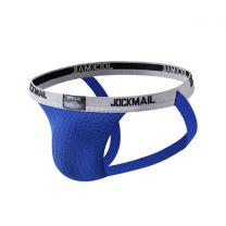 Jockmail Classic Bike Jockstrap 1 Inch Royal