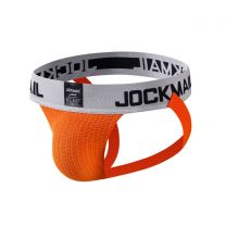 Jockmail Classic Bike Jockstrap 2 Inch Orange