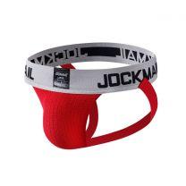 Jockmail Classic Bike Jockstrap 2 Inch Red