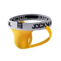 Jockmail Classic Bike Jockstrap 2 Inch Yellow