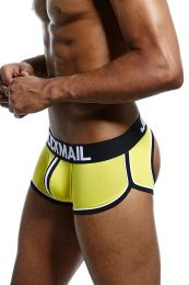 Jockmail Racer Backless Boxer Yellow