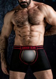 Locker Gear Short Chaps Red