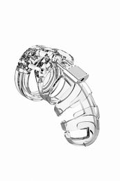 Mancage No 2 Chastity 3.5 Inch Cock Cage Clear