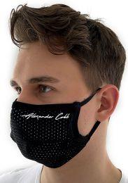 Alexander Cobb Double Layer Face Mask Mesh Black