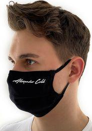 Alexander Cobb Double Layer Face Mask Black
