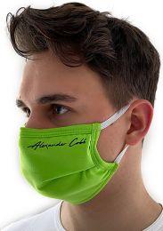 Alexander Cobb Double Layer Face Mask Green