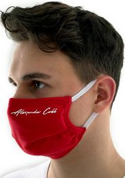 Alexander Cobb Double Layer Face Mask Red