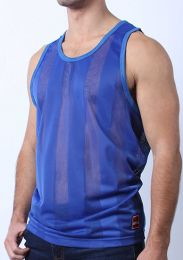 Cellblock 13 Midfield Mesh Tank Top Blue