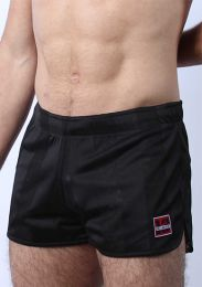 Cellblock 13 Midfield Mesh Reversible Shorts Black