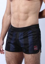 Cellblock 13 Midfield Mesh Reversible Shorts Blue