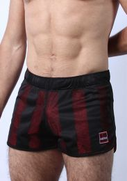 Cellblock 13 Midfield Mesh Reversible Shorts Red