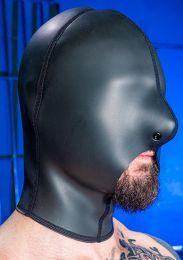 Mr S Leather Neoprene Cocksucker Hood Black