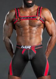 Mr S Leather Nitro Short Red