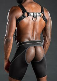 Mr S Leather Nitro Short Jock Grey
