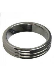 Triton Ribbed Cock Ring 55x10mm