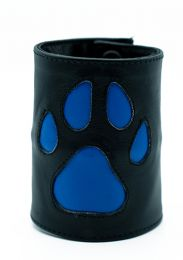 ruff GEAR HOUND Leather Wrist Strap Wallet Blue Black